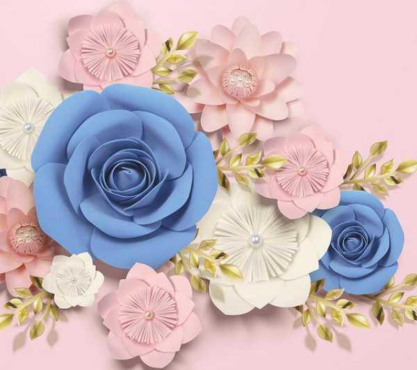 Cara Membuat Paper Flower