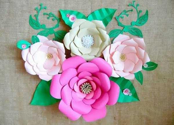 Cara Membuat Paper Flower untuk Dijual kembali