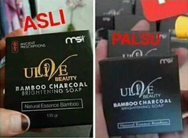 Ciri produk yang asli vs palsu