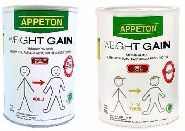 Testimoni Susu Appeton Weight Gain Child