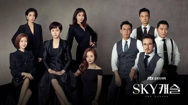 Rekomendasi Drama Korea 2019 Rating Tinggi - Sky Castle