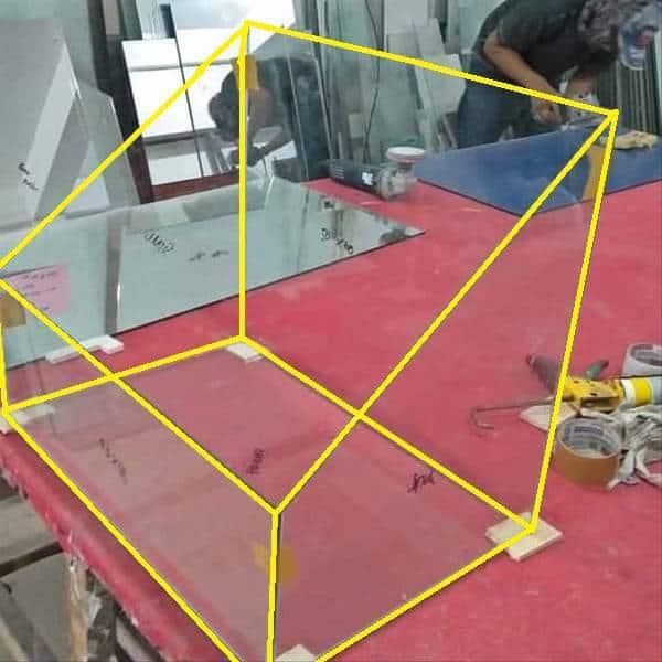 kaca palud paludarium ukuran desain