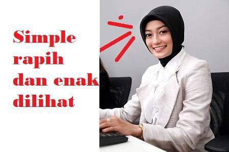 pakaian saat interview kerja yang benar untuk wanita muslim hijab jilbab