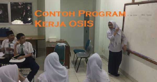 Contoh Program Kerja OSIS SMP yang Unik dan Bagus